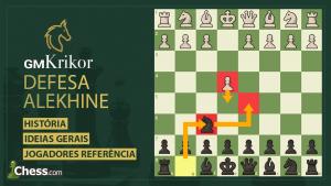Aprenda a Defesa Alekhine!