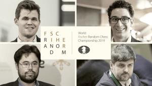 Inscrições Abertas Agora: Campeonato Mundial de Xadrez 960 da FIDE de 2019