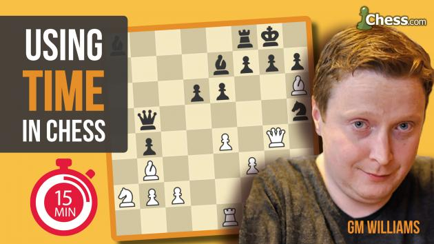 New Mastery Course: Using Time In Chess