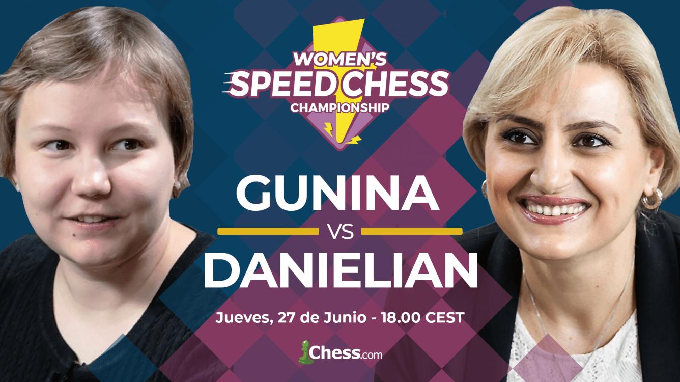 Danielian y Gunina | 2 gladiadoras en la final del Speed Chess