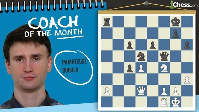 Trener Miesiąca: IM Mateusz Bobula