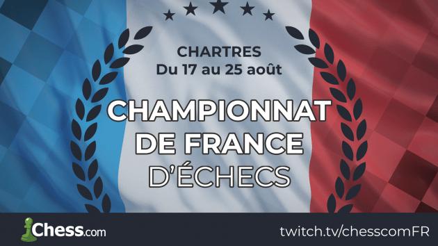 Le championnat de France à Chartres !