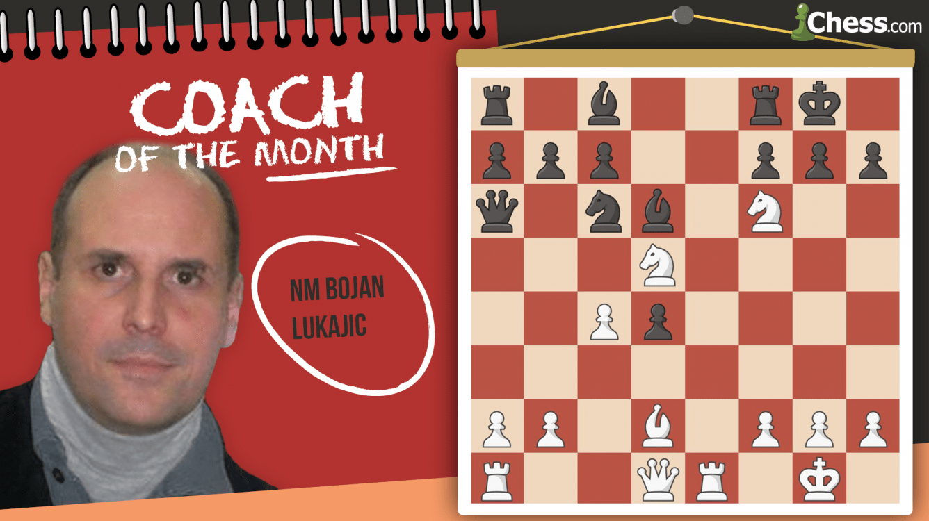 Coach Of The Month: NM Bojan Lukajic