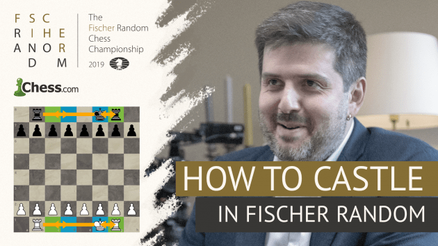 How To Castle In Fischer Random Chess (Chess960)