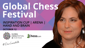 Participate In The Global Chess Festival This Saturday!