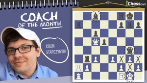 Coach Of The Month: Colin Stapczynski