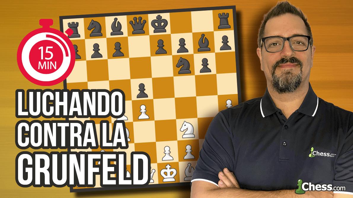 Cómo jugar contra la Defensa Grunfeld | Aperturas de ajedrez en 15 min