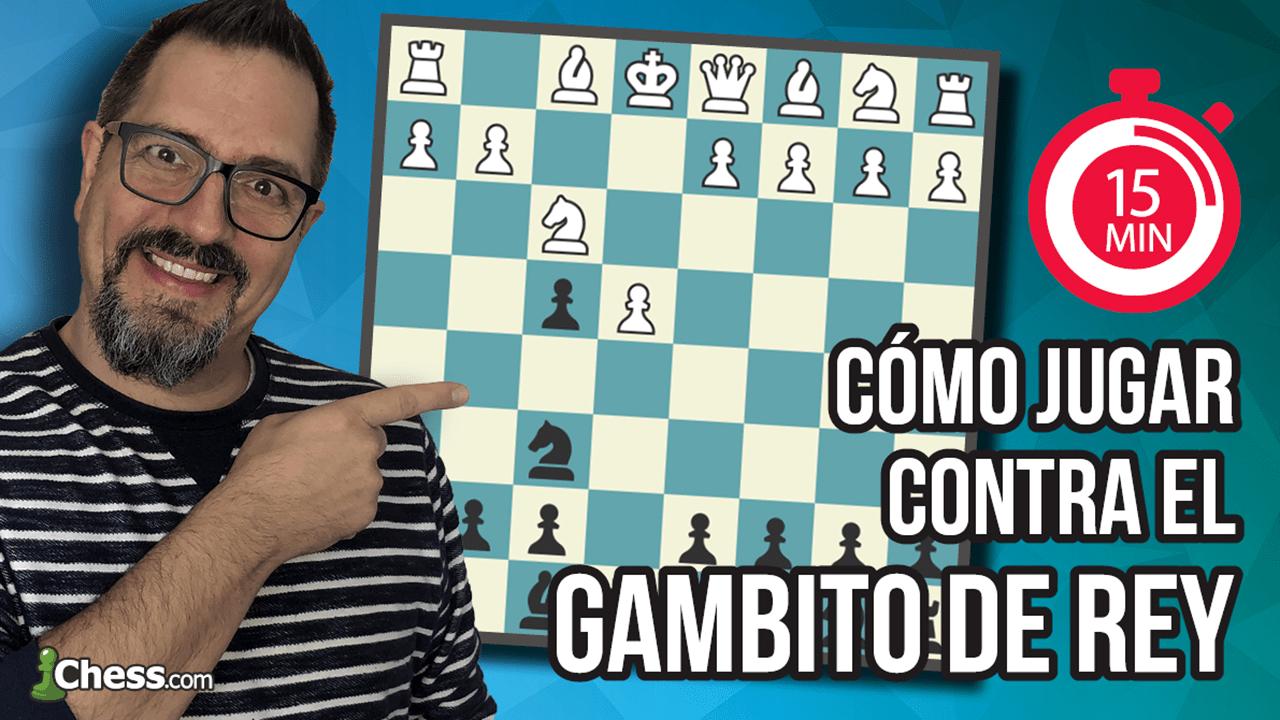 Cómo jugar contra el Gambito de Rey ¡en 15 minutos!