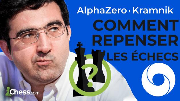 Les échecs repensés par Kramnik avec AlphaZero