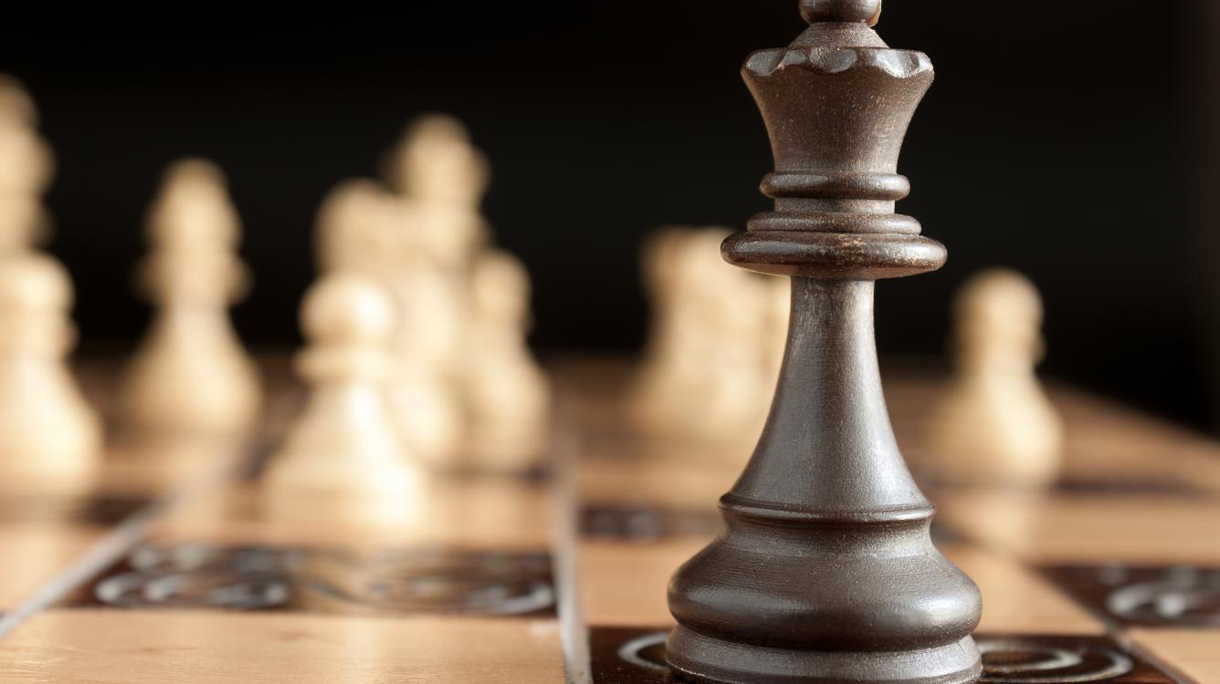Шахматные комбинации | Самый редкий двойной удар