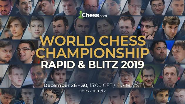 2019 World Rapid & Blitz Chess Championships