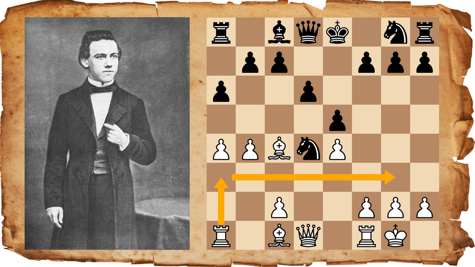The Rook Lift Paul Morphy S Last Gift To Chess Chess Com