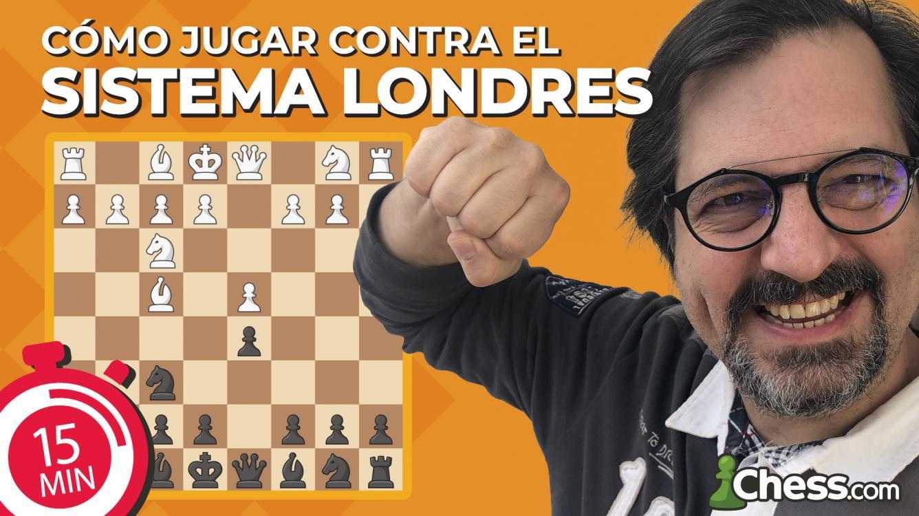 Cómo jugar contra el Sistema Londres | Aperturas de ajedrez en 15 min