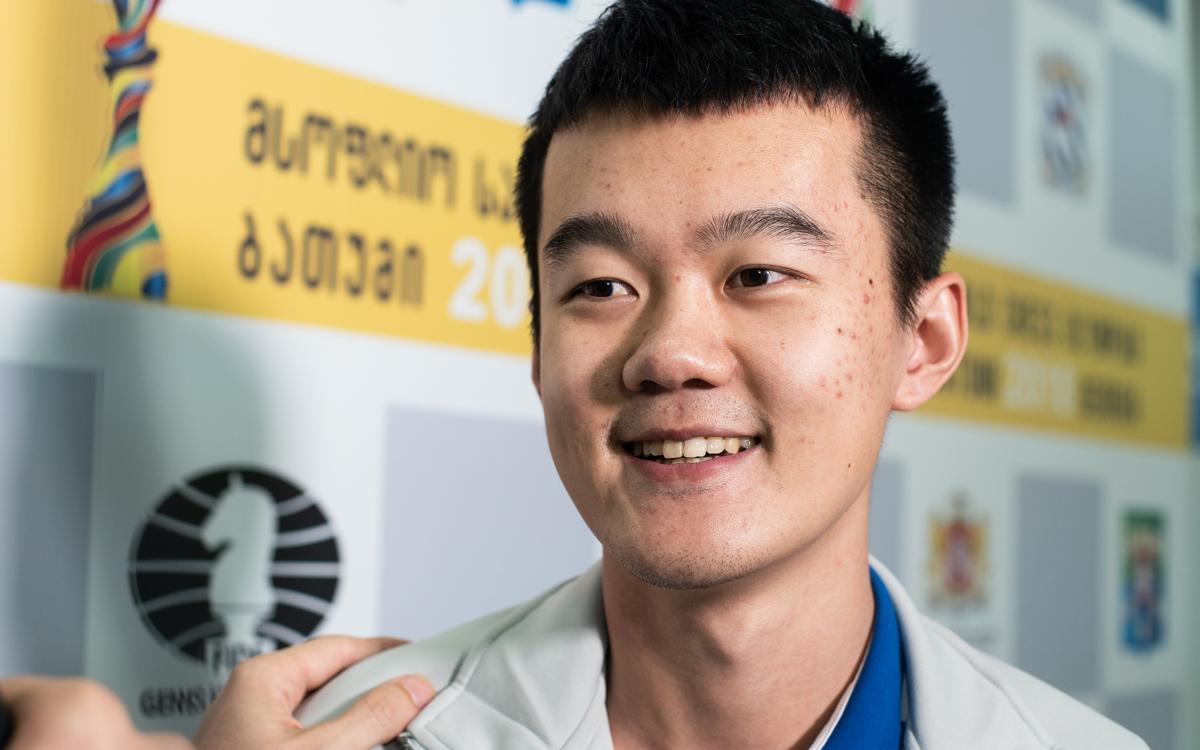 Entrevista a Ding Liren: 'No quiero ser famoso'