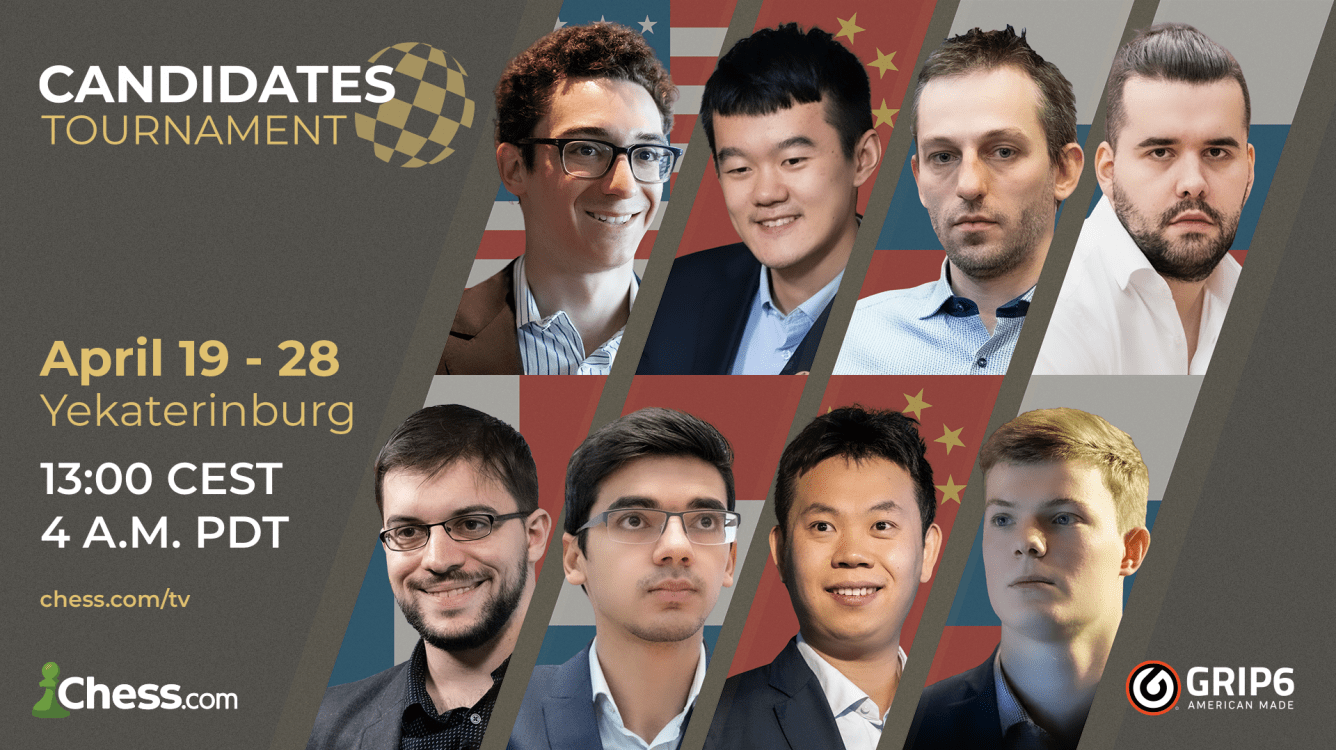FIDE Candidates Chess Tournament 2021: All The Info