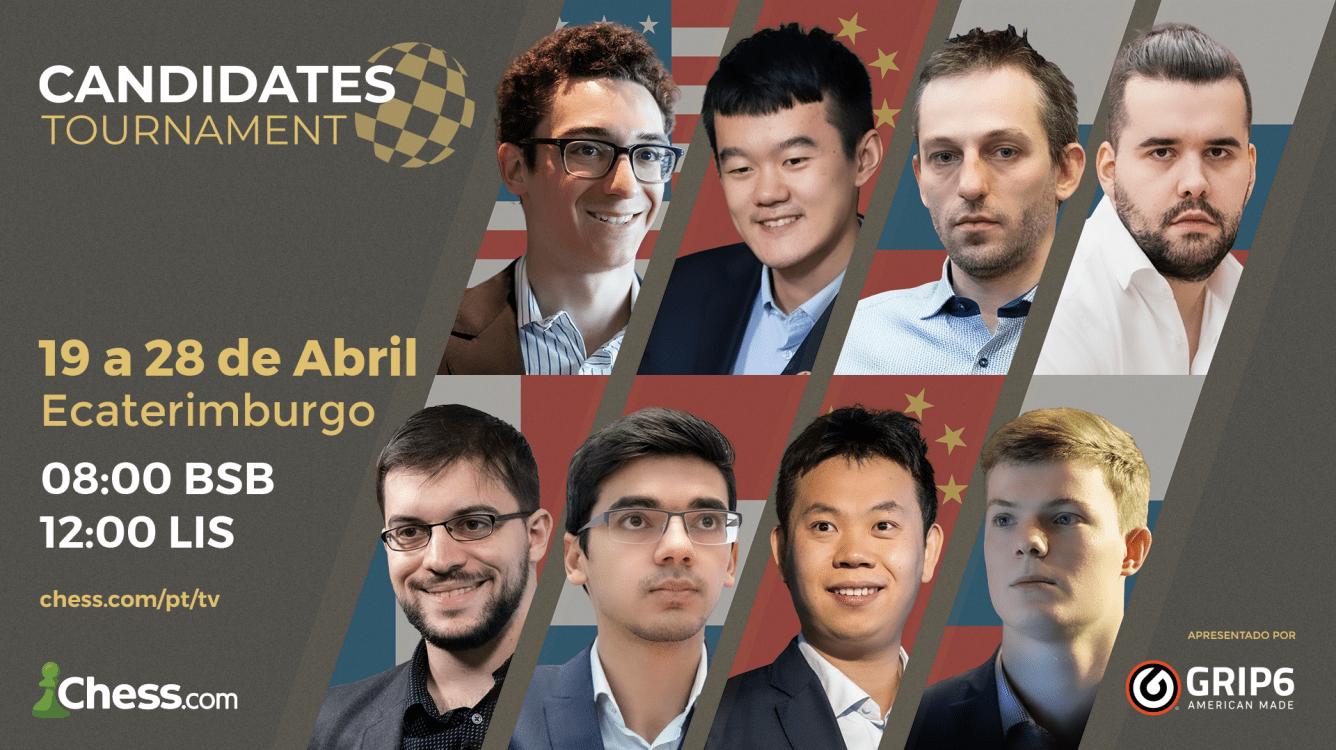 Torneio de Candidatos da FIDE 2021: Informações completas