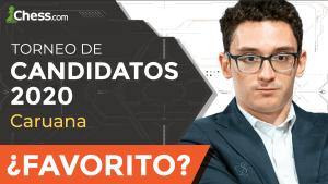 Fabiano Caruana: ¿Favorito en el Torneo de Candidatos 2020?