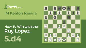 How To Win With The Ruy Lopez: 5.d4!?