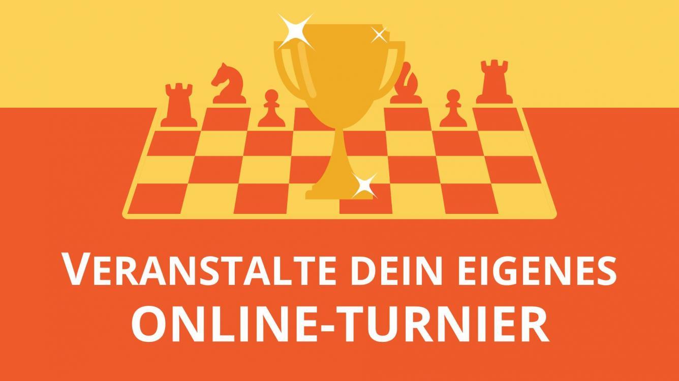 So organisierst Du Dein eigenes Online-Turnier