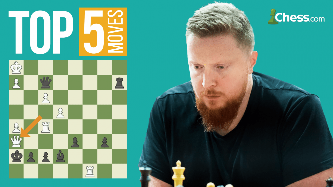 Top Five Moves Of The Chess Legends