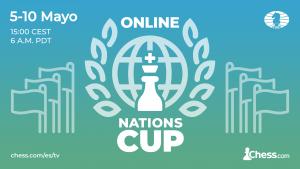 FIDE Chess.com Online Nations Cup: equipos confirmados
