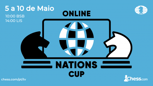 Online Nations Cup da FIDE e Chess.com: Equipes Confirmadas