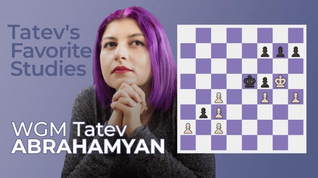 New Lesson Series: WGM Tatev Abrahamyan's Favorite Studies