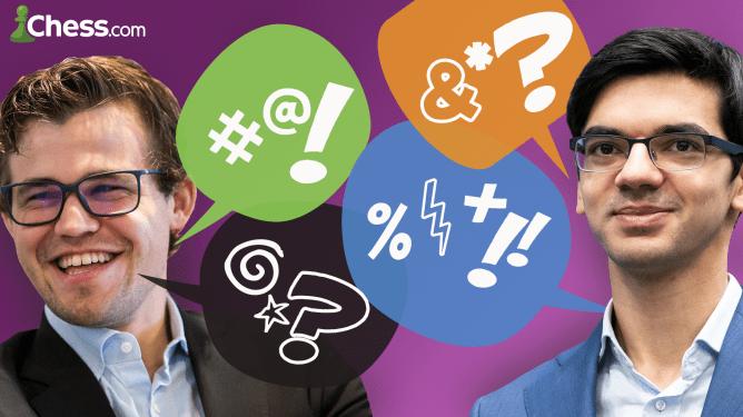"Carlsen vs. Giri : la guerre du ""trash talk"""