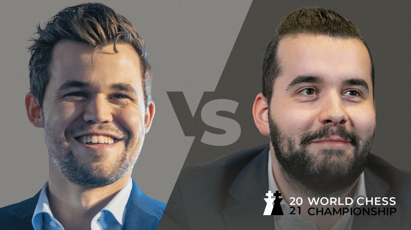 Campeonato Mundial de Xadrez 2021: Carlsen vs Nepomniachtchi