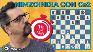 Defensa Nimzoindia con Ce2   Aperturas de ajedrez en 15'