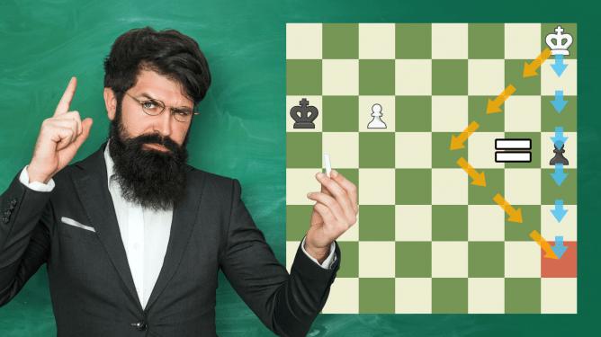 Die erstaunliche Geometrie im Schach