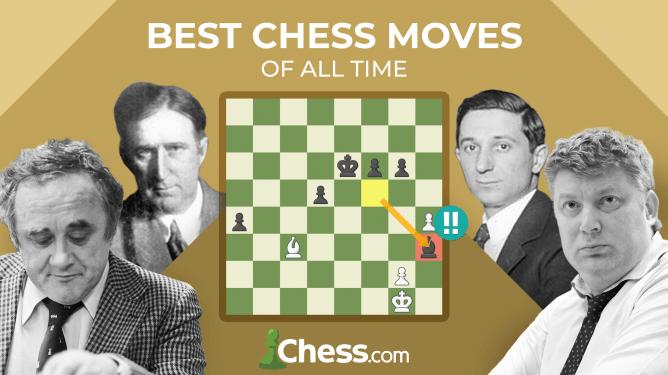 Die 10 besten Schachzüge aller Zeiten