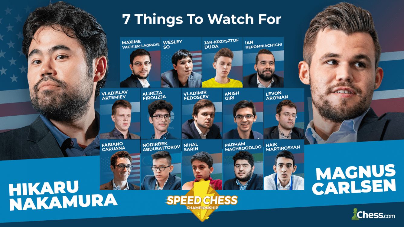 Speed Chess Championship: 7 cosas que no te puedes perder