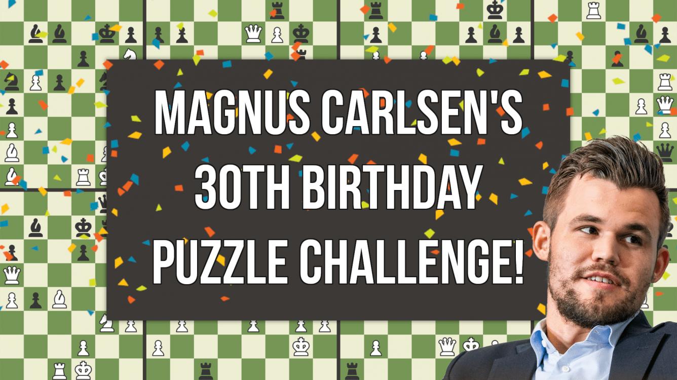 Solve Magnus Carlsen's Birthday Puzzle Challenge