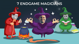 7 magos de los finales en ajedrez