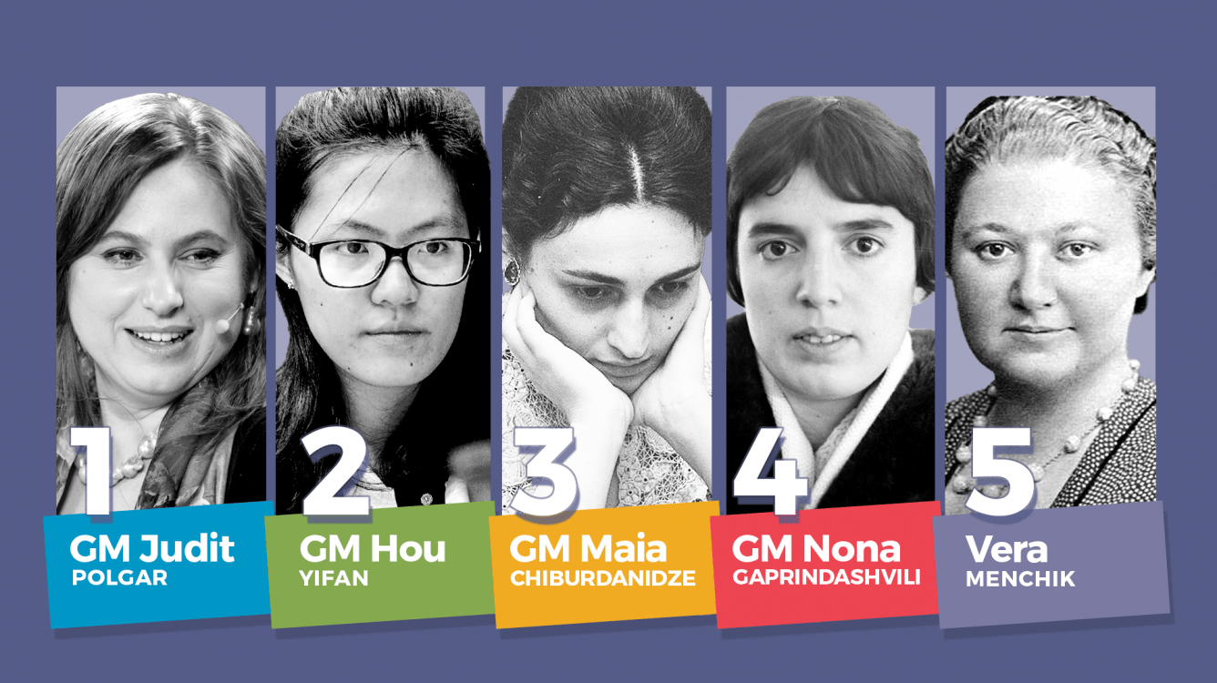 The Top 5 Best Female Chess Players of All Time