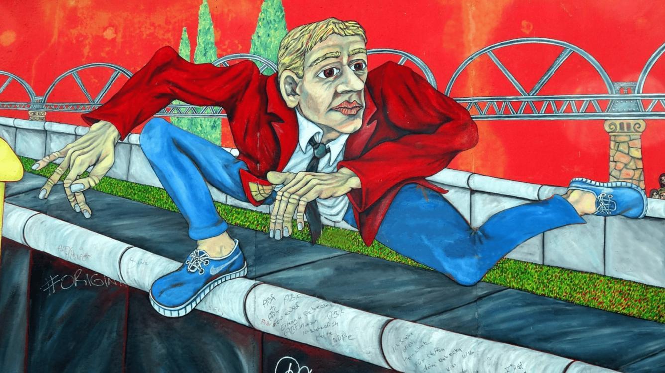 Huyendo del Muro de Berlín
