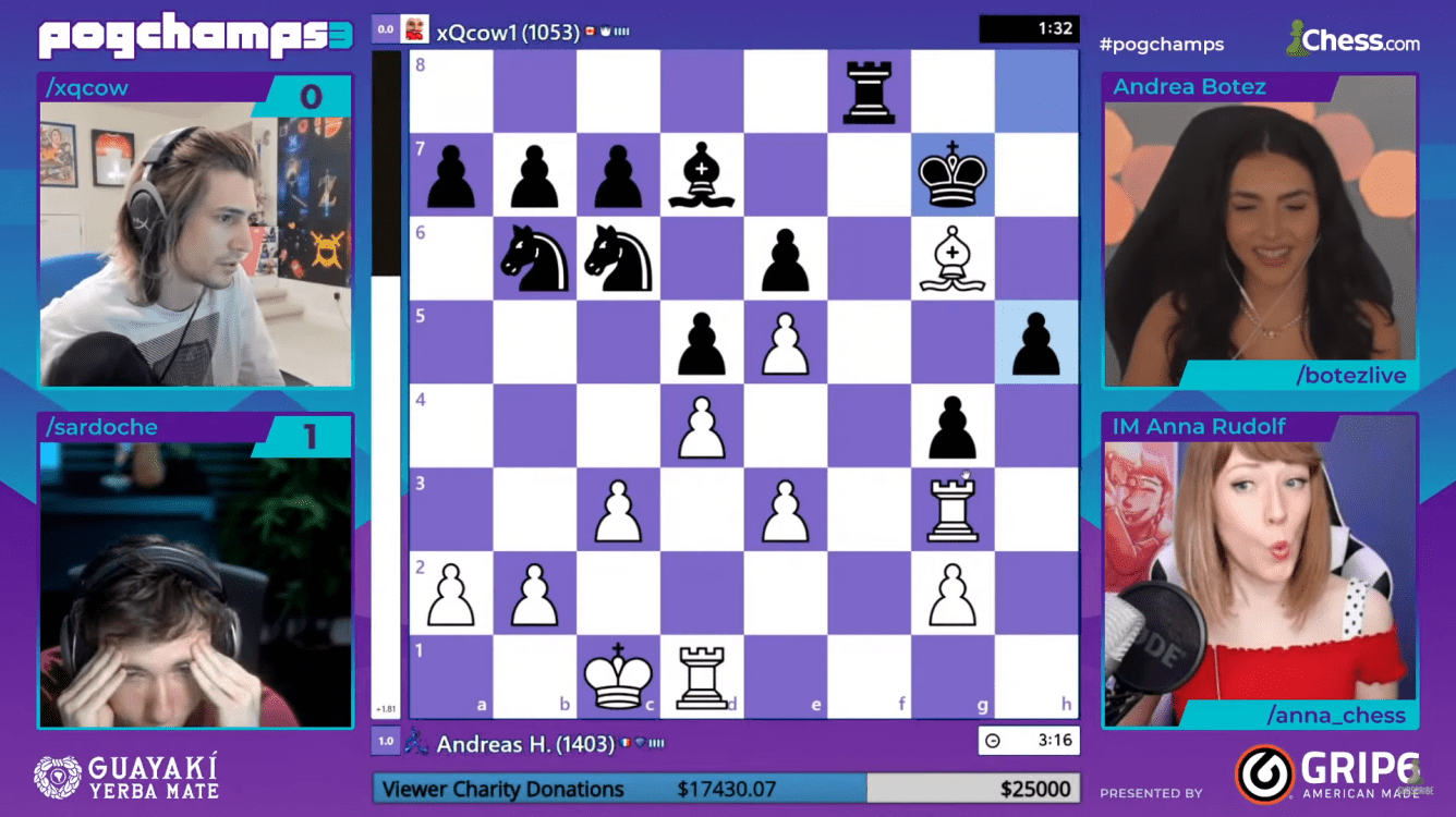 PogChamps 3 Chess Puzzles: Day 9