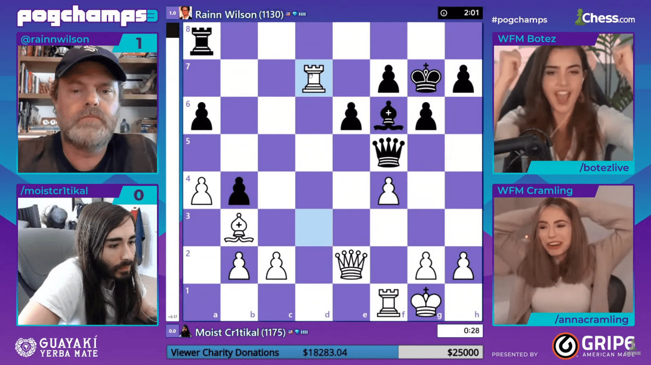 PogChamps 3 Chess Puzzles: Day 10