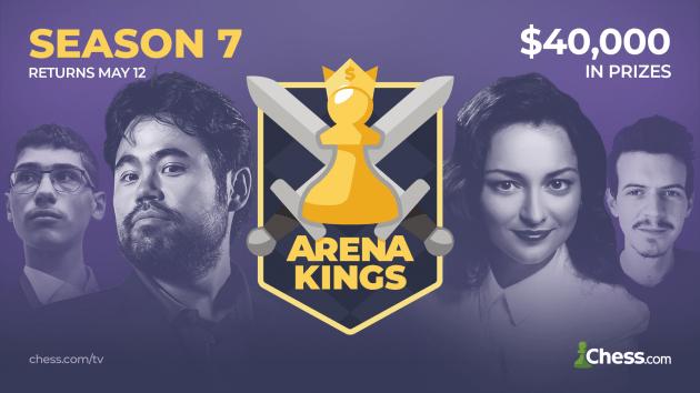 Arena Kings Season 7 Kicks Off Tomorrow!