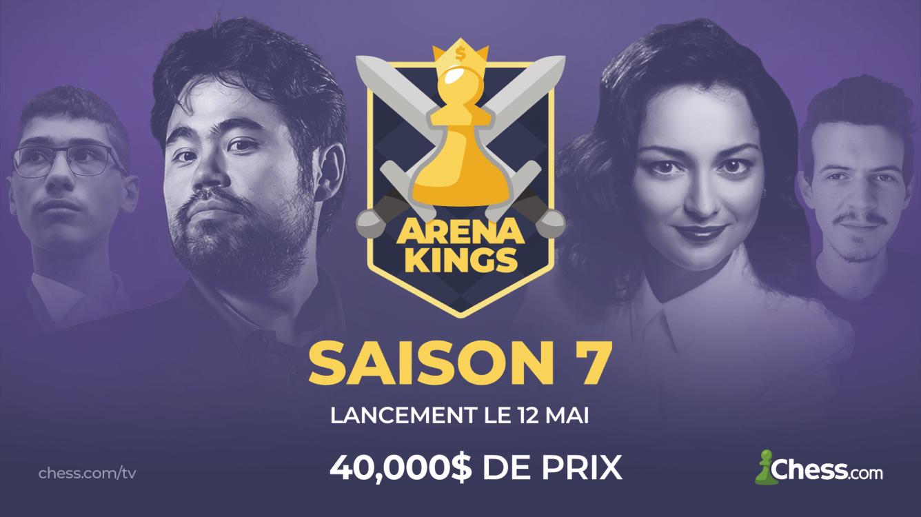 Arena Kings Saison 7 : toutes les informations