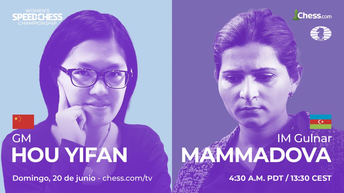 Women's Speed Chess Championship 2021: toda la información