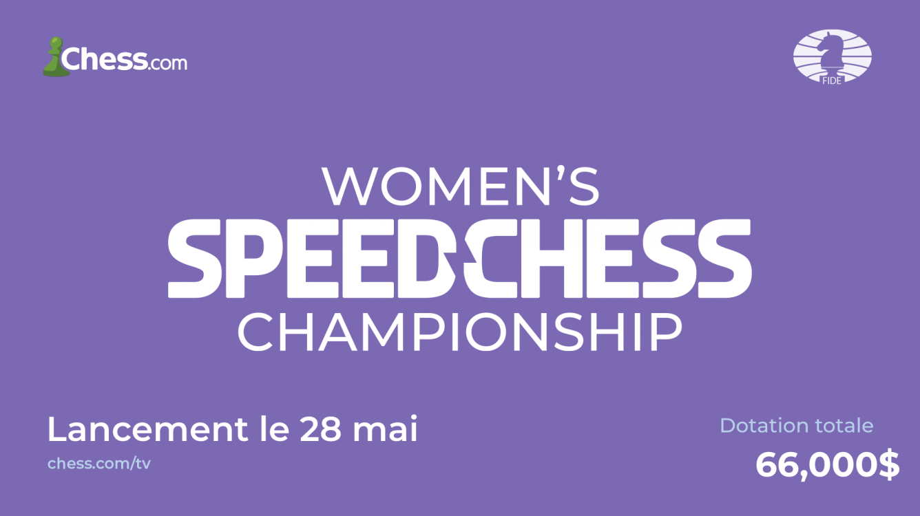 Speed Chess Championship féminin 2021 : toutes les informations