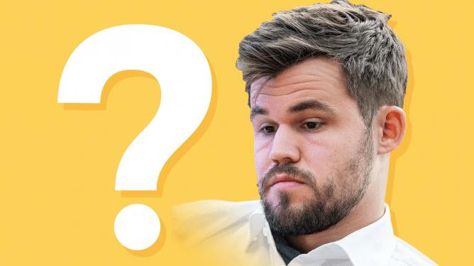 Wer kennt klassische Partien besser als Magnus Carlsen?