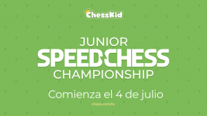 Junior Speed Chess Championship 2021: toda la información