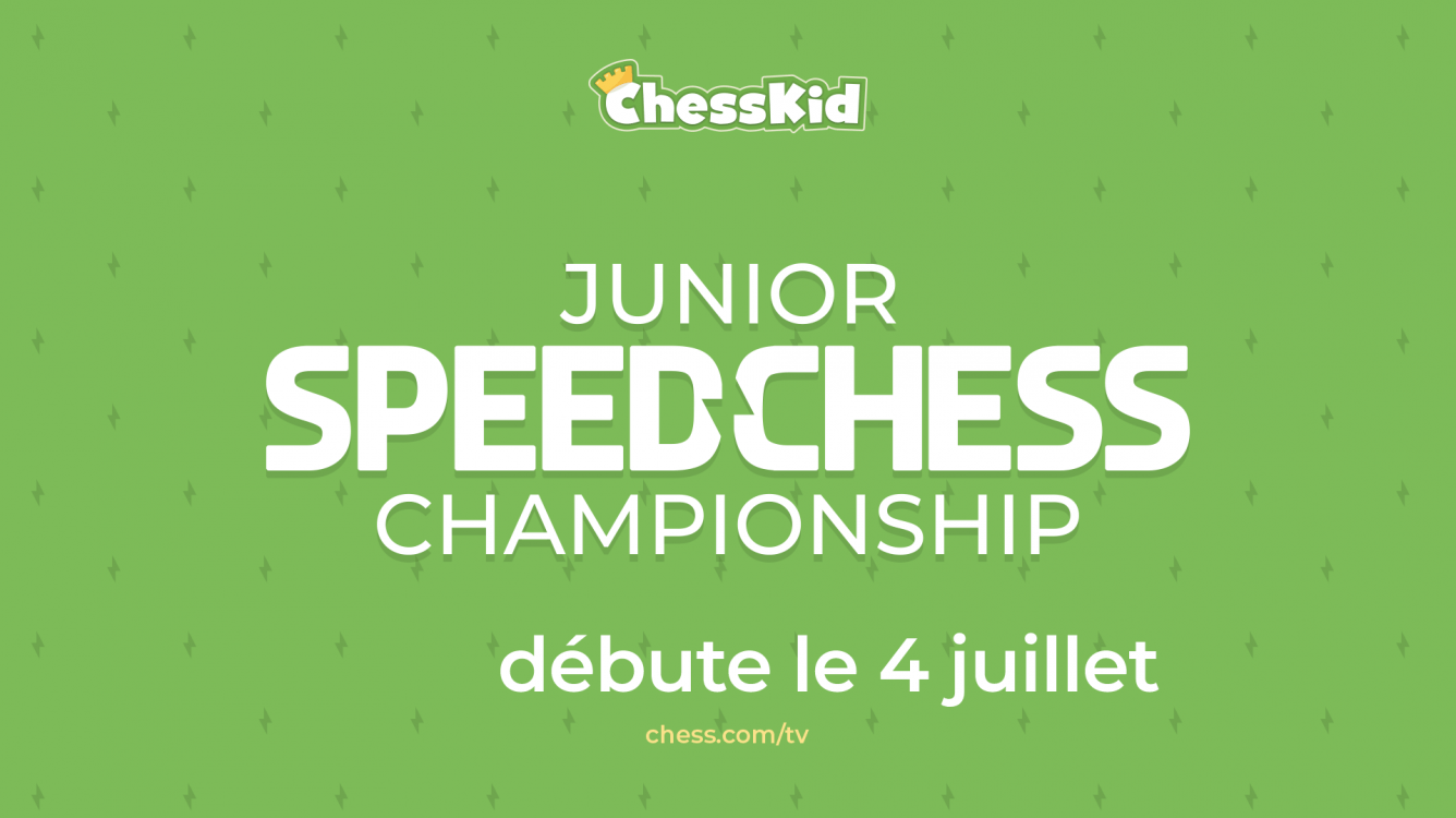 Junior Speed Chess Championship 2021 : Toutes les infos