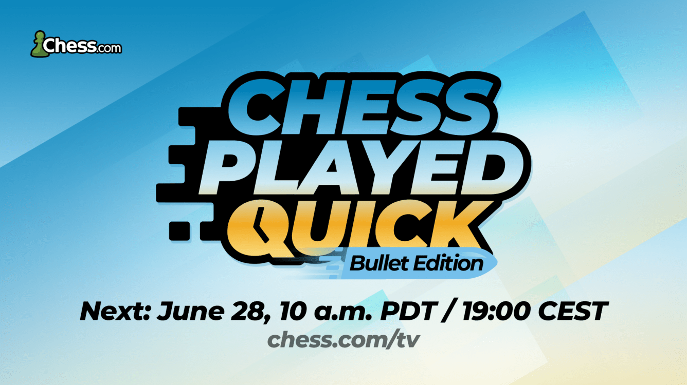 Chess Played Quick Bullet Edition: All The Information