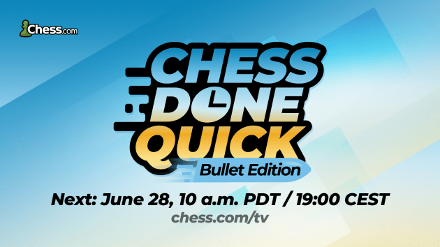 Chess Done Quick Bullet Edition: All The Information