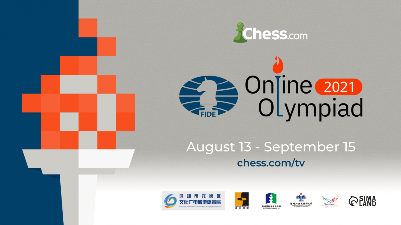 2021 FIDE Online Chess Olympiad: All The Information