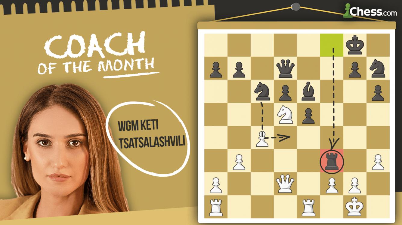 Coach Of The Month: Keti Tsatsalashvili
